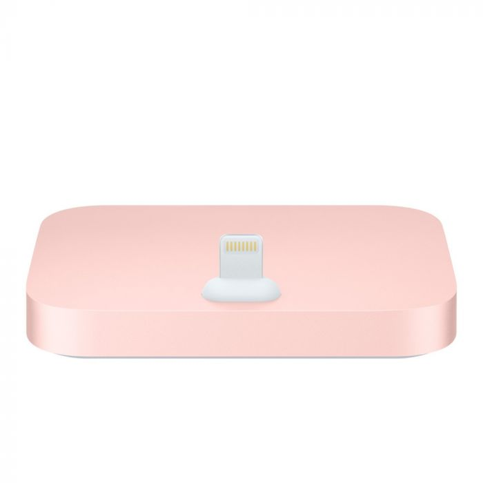 Suport Tip Dock Lightning Apple Roz ( incarcare, jack 3.5 mm)