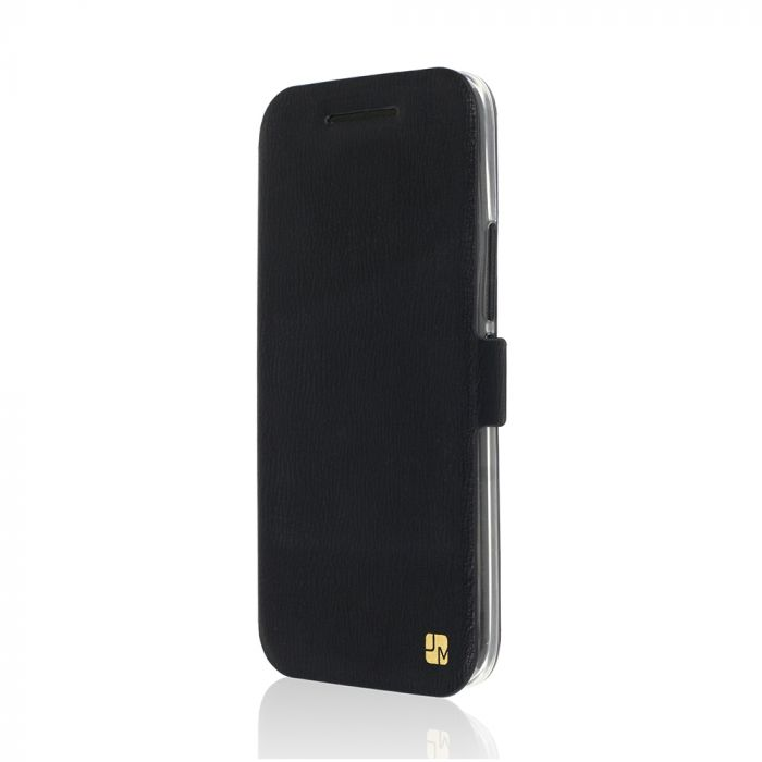 Husa HTC 10 Just Must Book Slim Negru (silicon in interior)