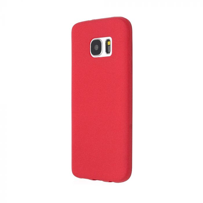 Husa Samsung Galaxy S7 G930 Just Must Silicon Sand Red (flexibil)
