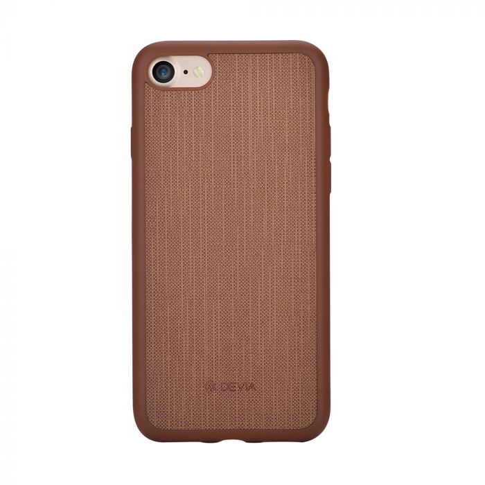 Carcasa iPhone 8 / 7 Devia Jelly Ultraslim Brown (flexibil)