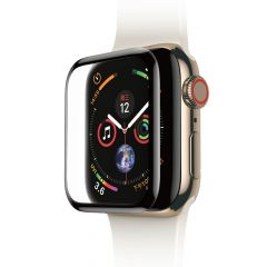 Folie Apple Watch 4 44mm Baseus Sticla Curbata Full Screen Black (0.3mm)