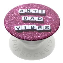 Suport Popsockets PopGrip Stand Adeziv Anti Bad Vibes