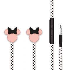 Casti Jack 3.5mm Disney Minnie Matt Head 3D Black