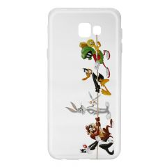 Husa Samsung Galaxy J4 Plus Looney Tunes Silicon Looney Tunes 009 Clear