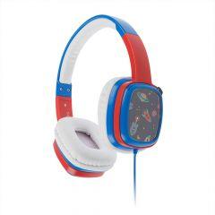 Casti On-Ear pentru copii KitSound Mini Movers Jack 3.5mm Albastru