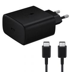 Incarcator Retea Type-C Samsung Super Fast Travel Charge 45W Black