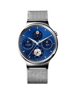 Smartwatch Huawei W1 Steel Mesh (otel inoxidabil, bratara plasa metalica Mesh Strap)