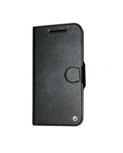 Husa Lenovo Moto G4 Lemontti Book Jelly Negru