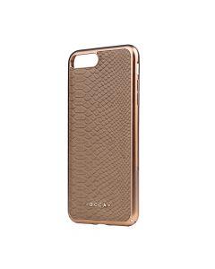 Carcasa iPhone 7 Plus Occa Wild Khaki (piele naturala)