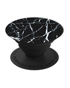 Suport Popsockets Stand Adeziv Black Marble