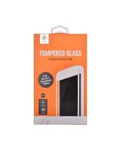 Folie Huawei P9 Lite 2017 Devia Frame Sticla Temperata Black