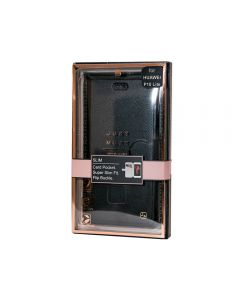 Husa Huawei P10 Lite Just Must Book Slim I Black (carcasa ultraslim flexibila)