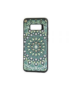 Carcasa Samsung Galaxy S8 G950 Occa Artist Indian Mandala (3D print cu cristale)
