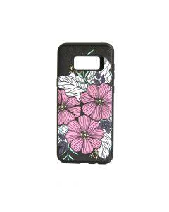 Carcasa Samsung Galaxy S8 Plus G955 Occa Artist Flower Bloom (3D print cu cristale)