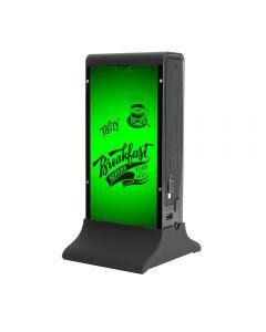 Acumulator extern 4smarts Bartender Club Black 20700 mAh (2x USB, cablu MicroUSB integrat, cablu Lig