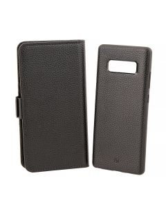 Husa Samsung Galaxy Note 8 Just Must Book Car Wallet Black (carcasa interior detasabila)