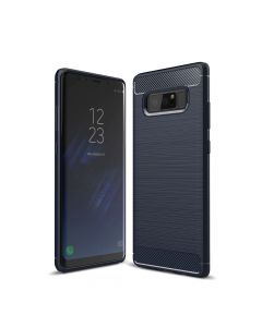 Carcasa Samsung Galaxy Note 8 Just Must Armour Soft Navy (antishock si flexibil)