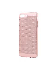 Carcasa iPhone 8 Plus Just Must Simo II Rose Gold (gaurele pentru disiparea caldurii)