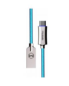 Cablu Type-C Mcdodo Auto Disconnect Blue (1m, QC3.0, led indicator)