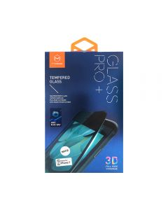 Folie iPhone 7 Mcdodo Sticla Soft Edge 3D Anti-BlueRay Full Cover White 9H, securizata antisoc grad