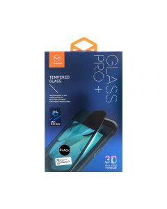 Folie iPhone 7 Mcdodo Sticla Soft Edge 3D Anti-BlueRay Full Cover Black 9H, securizata antisoc grad