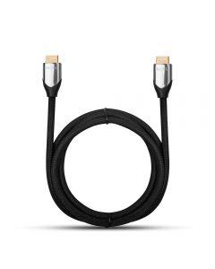 Cablu HDMI 2.0 la HDMI 2.0 HQcable GoldLine Black (1.8m, golden plated connectors)