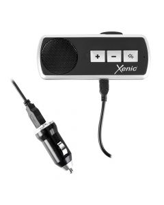 Speaker Xenic Car Kit Black (prindere parasolar auto, bluetooth 3.0, conexiune 2 terminale)