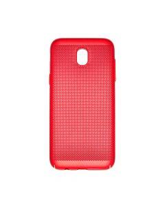 Carcasa Samsung Galaxy J5 (2017) Just Must Simo II Red (gaurele pentru disiparea caldurii)