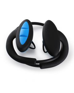 Casti Boompods Sportpods2 Black-Blue (in-ear, bluetooth, control tactil, sweat resistant)