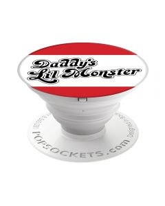 Suport Popsockets Stand Adeziv Suicide Squad: Daddy's Lil Monster