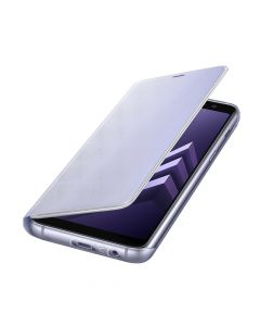Husa Samsung Galaxy A8 (2018) Samsung Neon Flip Cover Orchid Gray