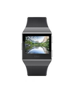 Smartwatch Fitbit Ionic Charcoal Smoke Gray HR, GPS