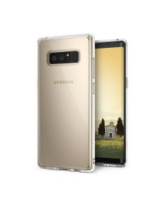 Carcasa Samsung Galaxy Note 8 Ringke Fusion Clear (margini flexibile antishock)