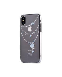 Carcasa iPhone X / XS Devia Shell Silver
