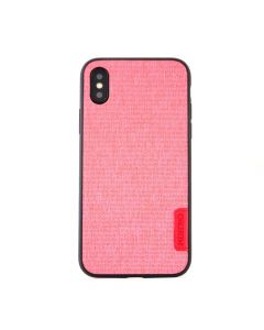Carcasa iPhone X Meleovo Knit Pink