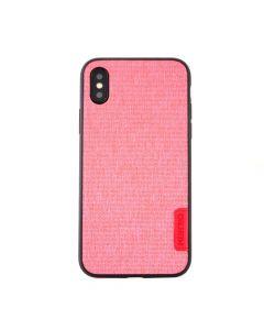 Carcasa iPhone X Meleovo Knit Pink