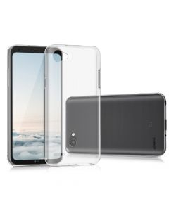 Husa LG Q6 Lemontti Silicon Ultraslim Transparent