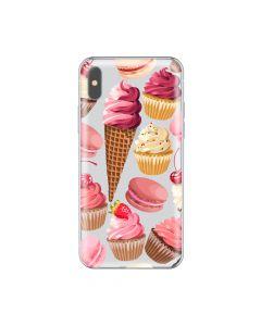 Husa iPhone X Lemontti Silicon Art Cookies