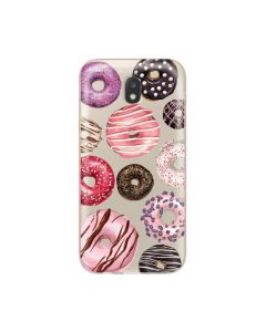 Husa Samsung Galaxy J5 (2017) Lemontti Silicon Art Donuts