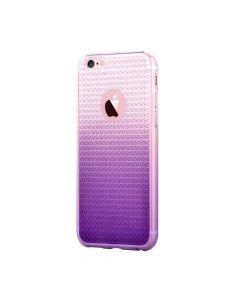 Husa iPhone 6/6S Devia Silicon Leo Gradient Diamond Purple