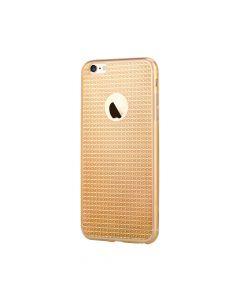 Husa iPhone 6/6S Devia Silicon Sparkle Crystal Champagne
