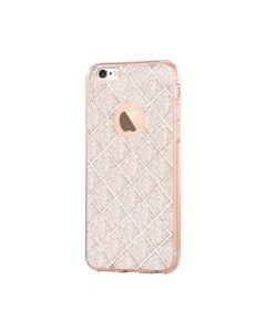 Husa iPhone 6/6S Devia Silicon Knight Champagne Gold