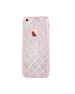 Husa iPhone 6/6S Devia Silicon Knight Rose Gold