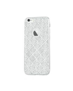 Husa iPhone 6/6S Devia Silicon Knight Silver