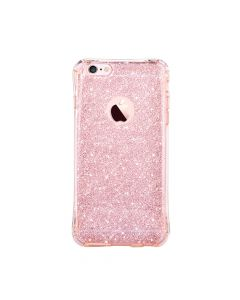 Husa iPhone 6/6S Devia Silicon Duo Shockproof Rose Gold