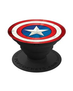 Suport Universal Popsockets Stand Adeziv Captain America Shield Icon