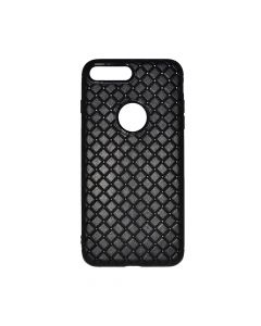 Carcasa iPhone 8 Plus Just Must Woven Soft Black