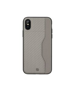Carcasa iPhone X Just Must Darty X Beige (slot card)