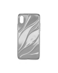 Husa iPhone X Baseus Water Modelling Transparent Black