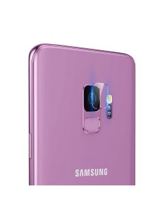 Folie Samsung Galaxy S9 G960 Baseus Sticla Camera Lens Transparent (0.15mm, pentru camera)